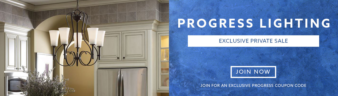 Progress Lighting Private Sale Exclusive Event - Join Now