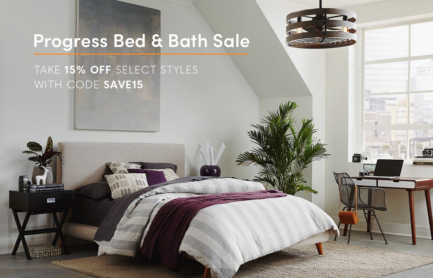 Progress Lighting Bed and Bath Sale 15% Off
