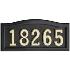 Destination Lighting Shop Address Signs