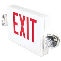 Destination Lighting Shop Exit and Emergency Signs